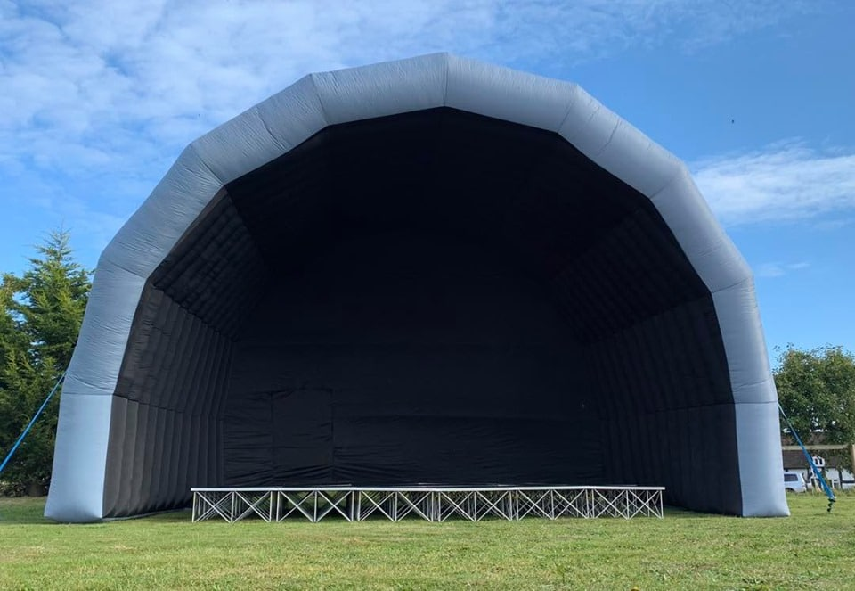 Outdoor Stage Cover & Stage