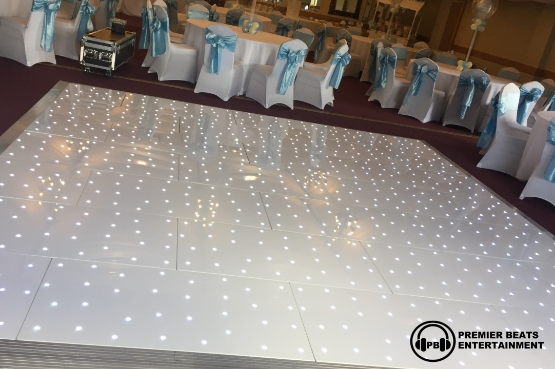 White Starlit Dancefloors