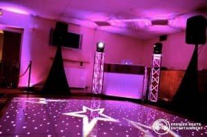 Vip Setup Starlit Dancefloor Uplighting Red Carpet Premier Beats Entertainment