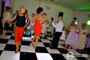 Black & White Checkered Dancefloors